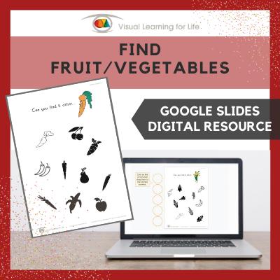 Find Fruit-Vegetables (Google Slides)