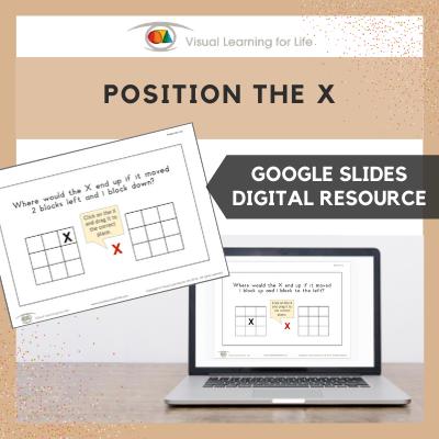 Position the X (Google Slides)