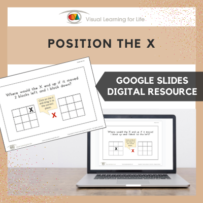 Position the X (Google Slides)