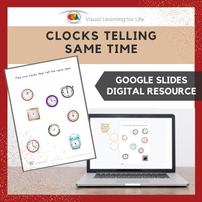Clocks Telling the Same Time (Google Slides)