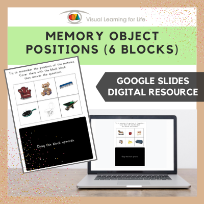 Memory Object Positions - 6 Blocks (Google Slides)