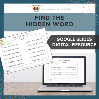 Find the Hidden Word (Google Slides)