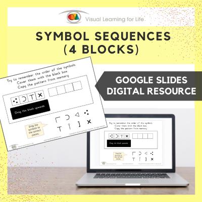 Symbol Sequences - 4 Blocks (Google Slides)