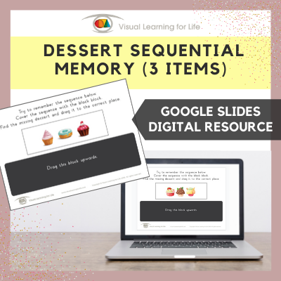 Dessert Sequential Memory (Google Slides)