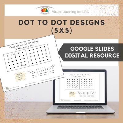 Dot to Dot Designs (5x5) (Google Slides)