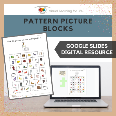 Pattern Picture Blocks (Google Slides)