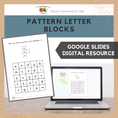 Pattern Letter Blocks (Google Slides)