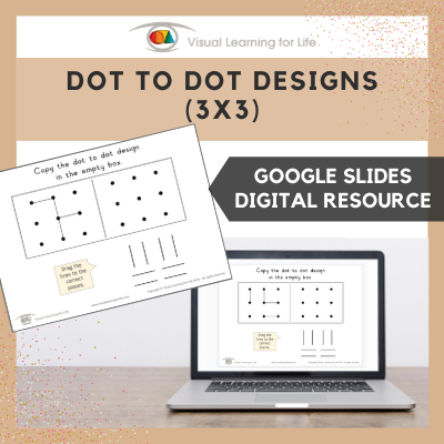 Dot to Dot Designs (3x3) (Google Slides)