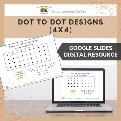 Dot to Dot Designs (4x4) (Google Slides)