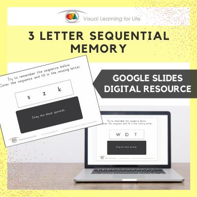 3 Letter Sequential Memory (Google Slides)