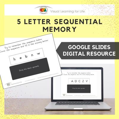 5 Letter Sequential Memory (Google Slides)