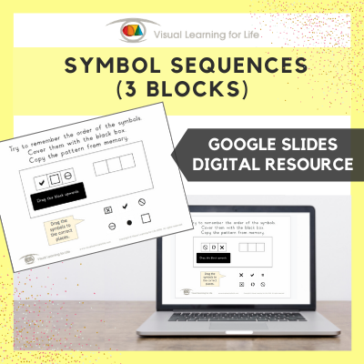 Symbol Sequences - 3 Blocks (Google Slides)