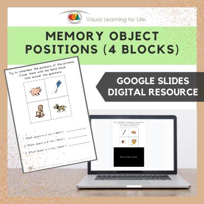 Memory Object Positions - 4 Blocks (Google Slides)