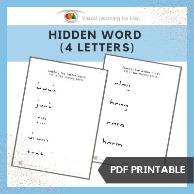 Hidden Word (4 Letters)