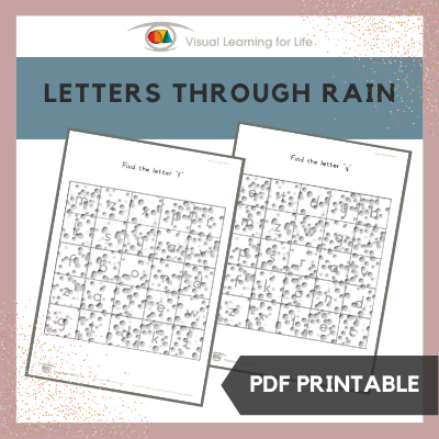 Letters Through Rain