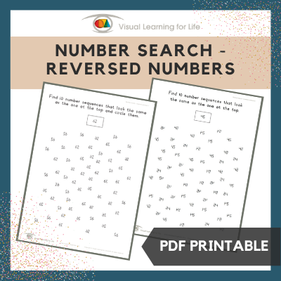 Number Search–Reversed Numbers