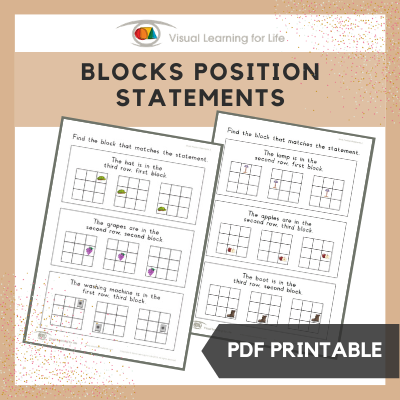 Block Position Statements