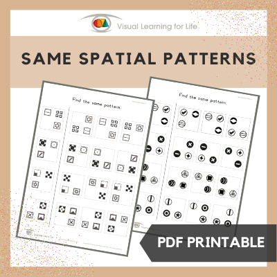 Same Spatial Patterns