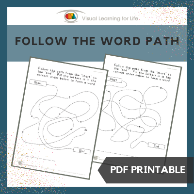 Follow the Word Path