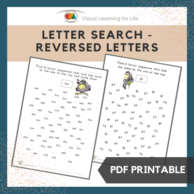Letter Search–Reversed Letters