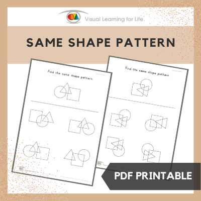 Same Shape Pattern