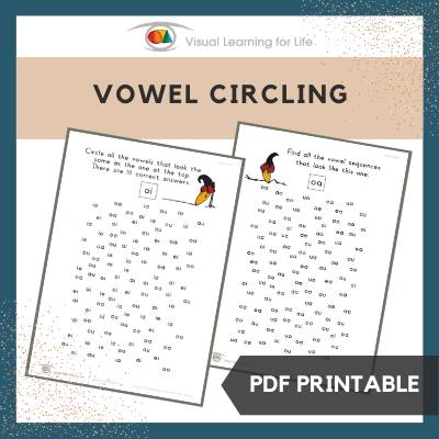 Vowel Circling