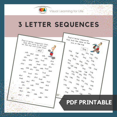 3 Letter Sequences