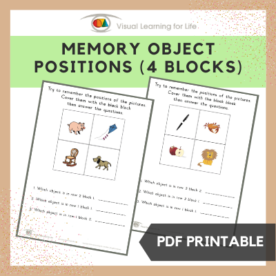 Object Block Positions (4 Blocks)