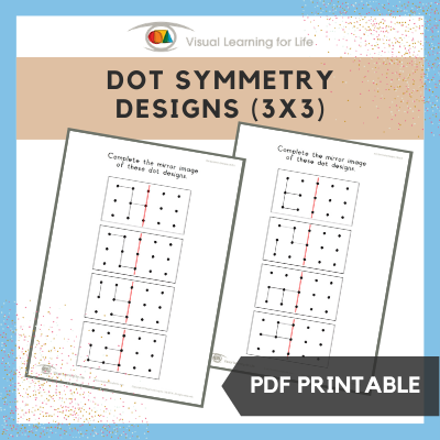 Dot Symmetry Designs (3x3)