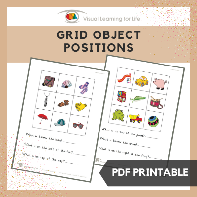 Grid Object Positions