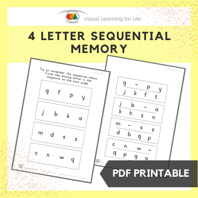 4 Letter Sequential Memory