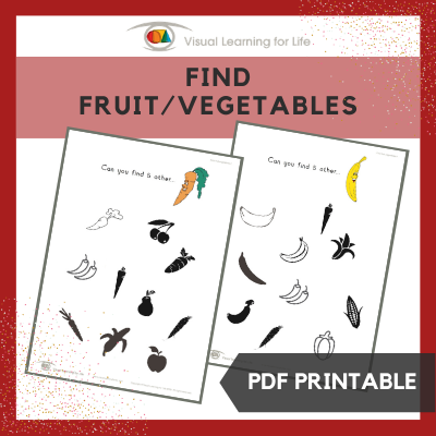 Find Fruit-Vegetables