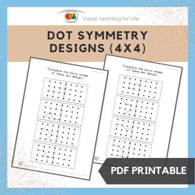 Dot Symmetry Designs (4x4)