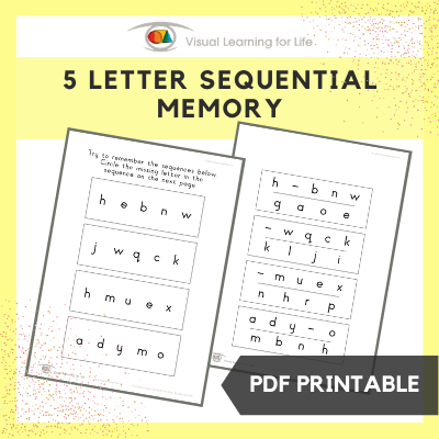 5 Letter Sequential Memory