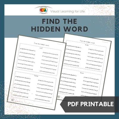 Find the Hidden Word