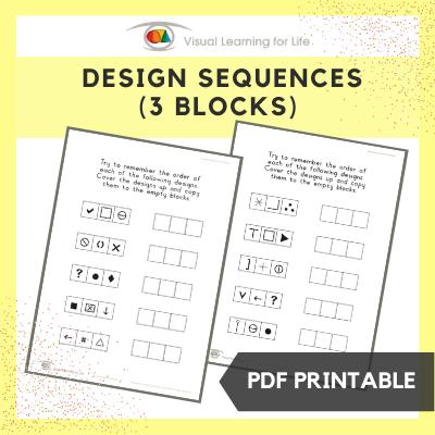 Design Sequences (3 Blocks)
