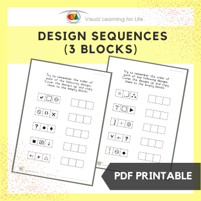 Design Sequences (3 Blocks)