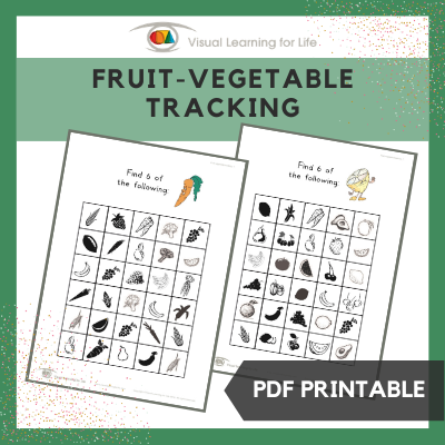 Fruit-Vegetable Tracking