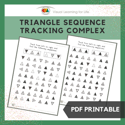 Triangle Sequence Tracking Complex