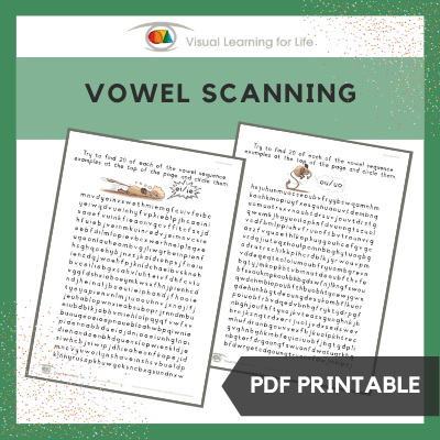 Vowel Scanning