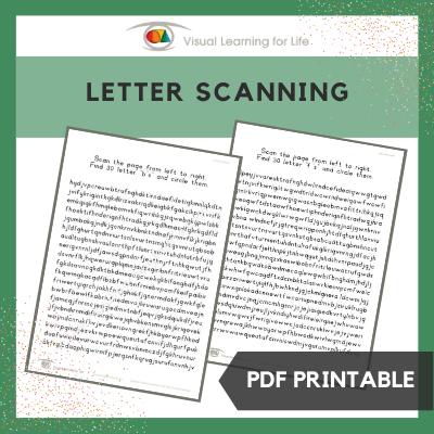 Letter Scanning
