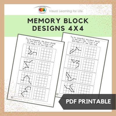 Memory Block Designs (4x4)