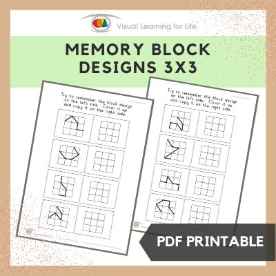 Memory Block Designs (3x3)