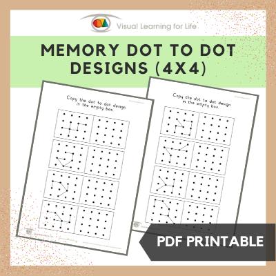 Memory Dot Designs (4x4)