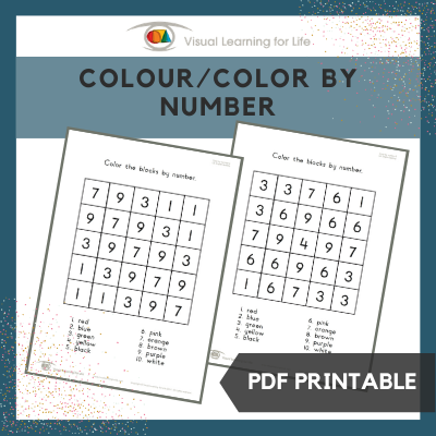 Colour/Color by Number