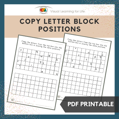 Copy Letter Block Positions