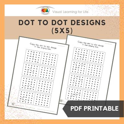 Dot to Dot Designs (5x5)