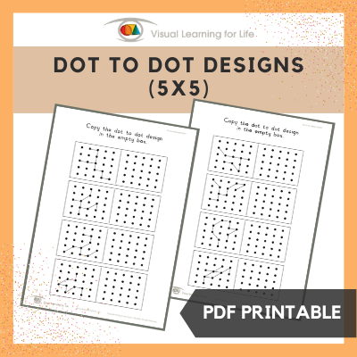 Dot to Dot Designs (5x5)