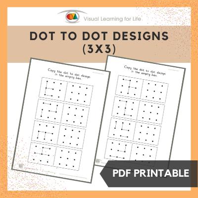 Dot to Dot Designs (3x3)