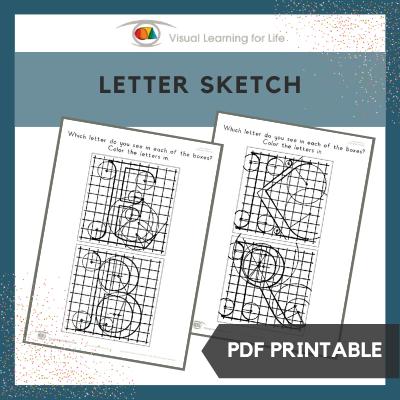 Letter Sketch